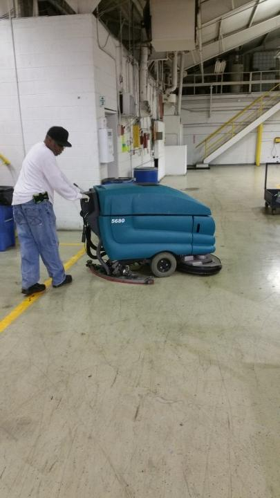 Floor cleaning in Strongsville by JayKay Janitorial & Cleaning Services LLC